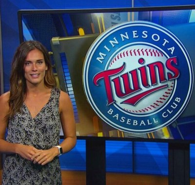 My first recorded sportscast with FOX 9 KMSP